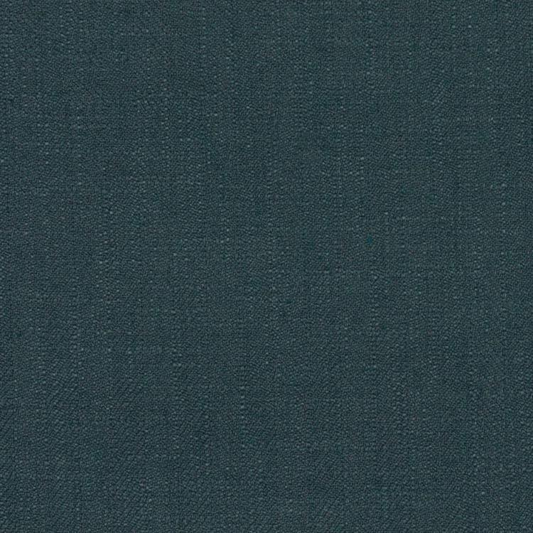 Barrister Teal Blue Upholstery Minimalist Linen Poly Fabric / Denim