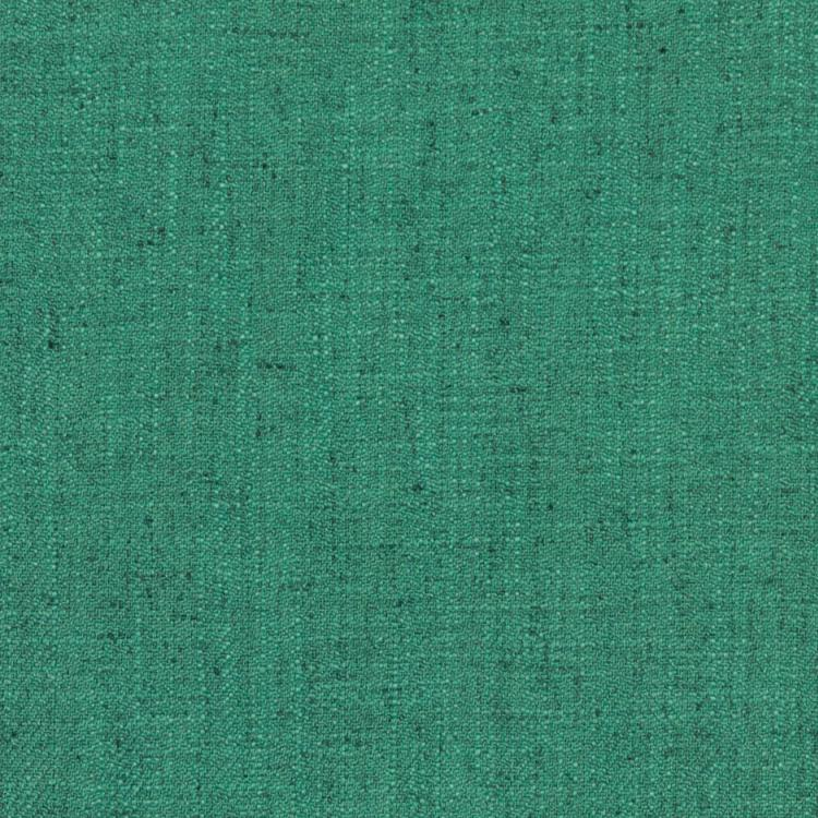 Barrister Turquoise Blue Upholstery Minimalist Linen Poly Fabric / Sea Spray