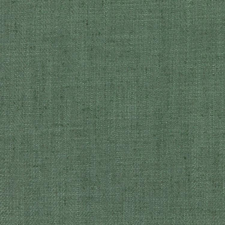 Barrister Teal Upholstery Minimalist Linen Poly Fabric / Blue Sky