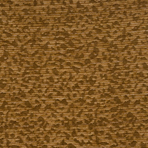 Vervain Cantaloupe Hide Animal Pattern Chenille Fabric / Caramel
