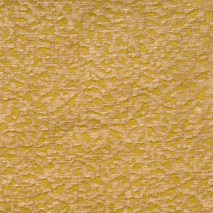 Vervain Cantaloupe Hide Animal Pattern Chenille Fabric / Chartruese