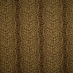 Vervain Cayuga Cheetah Animal Pattern Fabric / Mink