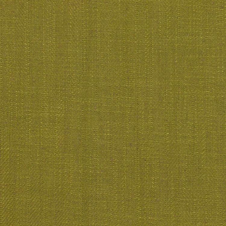 Barrister Chartreuse Upholstery Minimalist Linen Poly Fabric / Zest