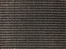 Load image into Gallery viewer, Designer Charcoal Black Woven Genuine Straw Olefin Wicker Rattan Basketweave Water & Stain Resistant Upholstery Fabric