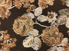 Load image into Gallery viewer, Kravet Rusty Brown Beige Floral Botanical Upholstery Drapery Fabric