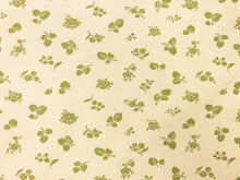 Load image into Gallery viewer, Reversible Kravet Beige Lime Green Small Scale Floral Strie Botanical Upholstery Drapery Fabric