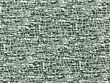 Load image into Gallery viewer, Reversible Designer Green Ivory Water & Stain Resistant Abstract MCM Mid Century Modern Upholstery Drapery Fabric