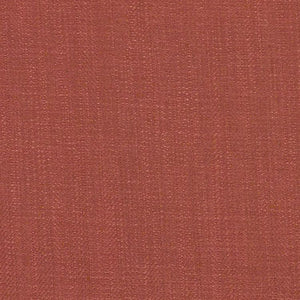 Barrister Rose Red Upholstery Minimalist Linen Poly Fabric / Peony