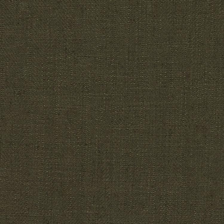 Barrister Green Upholstery Minimalist Linen Poly Fabric / Putty