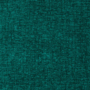 Plush Chenille Upholstery Fabric / Teal