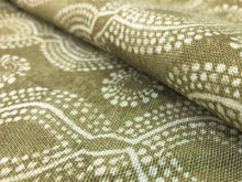 Load image into Gallery viewer, Designer Ethnic Tribal Beige Neutral Off White Print Upholstery Drapery Fabric