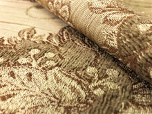 Load image into Gallery viewer, Kravet Design Pale Gold Beige Taupe Floral Jacobean Botanical Upholstery Drapery Fabric