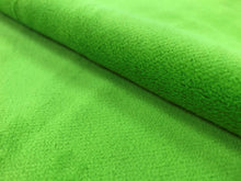 Load image into Gallery viewer, Designer Water & Stain Resistant Heavy Duty Lime Green Velvet Upholstery Drapery Fabric