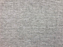 Load image into Gallery viewer, Perennials Indoor Outdoor Water Resistant Textured MCM Mid Century Modern Gray Grey Off White Tweed Upholstery Fabric