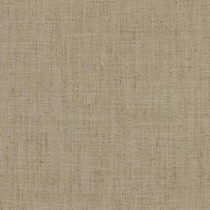 Barrister Beige Upholstery Minimalist Linen Blend Fabric / Candlelight
