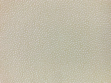 Load image into Gallery viewer, Ultraleather Eco Tech Shagreen Animal Skin Pattern Off White Ivory Cream Textured Faux Leather Upholstery Vinyl