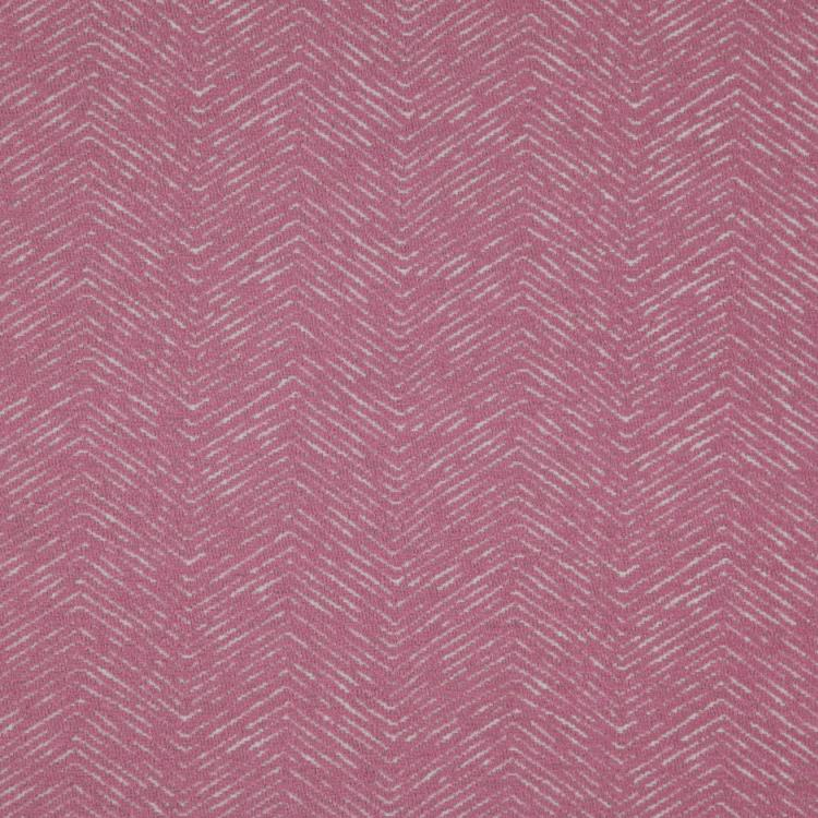 Strand Pink Chevron Upholstery Fabric / Blossom