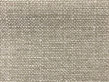 Load image into Gallery viewer, Crypton Stain Water Resistant Mid Century Modern Basketweave Tweed Chenille Gray Silver Ecru Neutral Upholstery Fabric RMCR XI