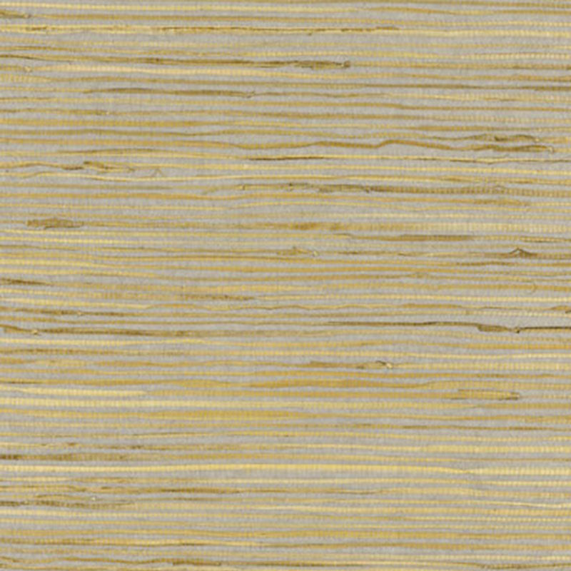 Schumacher Nami Rushcloth Wallpaper 5002862 / Slate