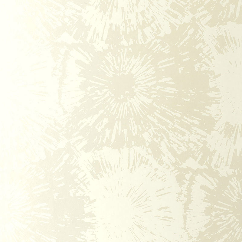Schumacher Fireworks Wallpaper 5003311 / White Opal