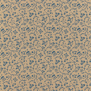 Schumacher Kyara Vine Wallpaper 5005264 / Indigo