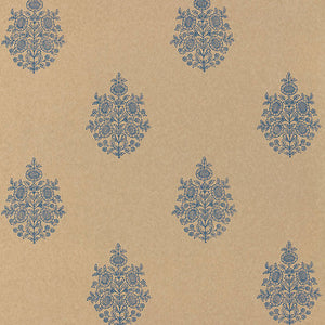 Schumacher Asara Flower Wallpaper 5005323 / Indigo