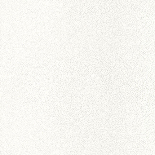 Schumacher Shagreen Wallpaper 5005850 / White Pearl