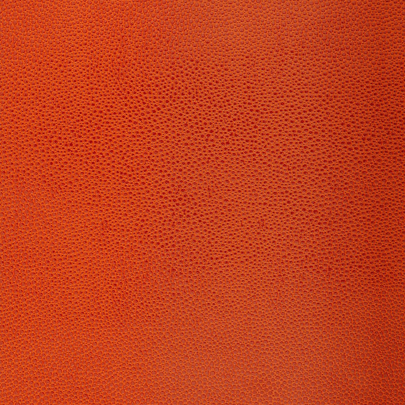 Schumacher Shagreen Wallpaper 5005852 / Chinese Orange