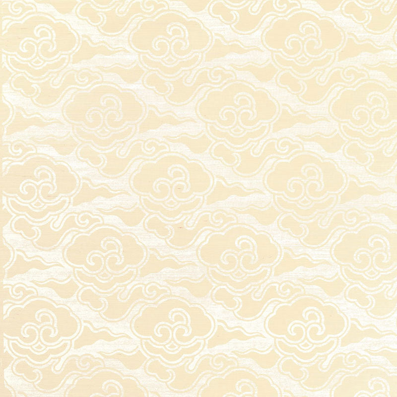 Schumacher Cirrus Clouds Wallpaper 5006061 / Blanched