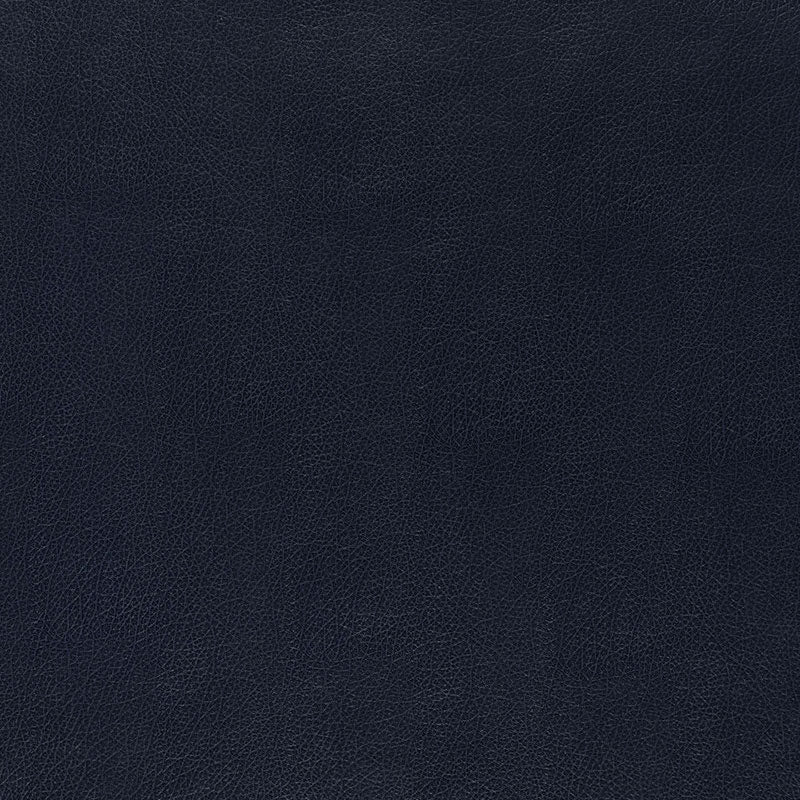 Schumacher Canyon Leather Wallpaper 5006215 / Navy