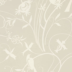 Schumacher Sky Meadow Wallpaper 5007620 / Linen