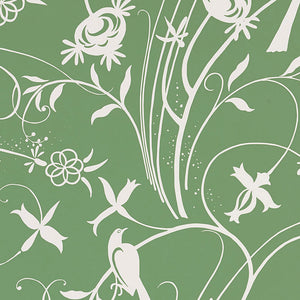 Schumacher Sky Meadow Wallpaper 5007623 / Green