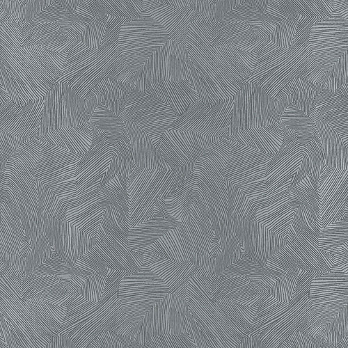 Schumacher Labyrinth Metallic Wallpaper 5007770 / Mercury