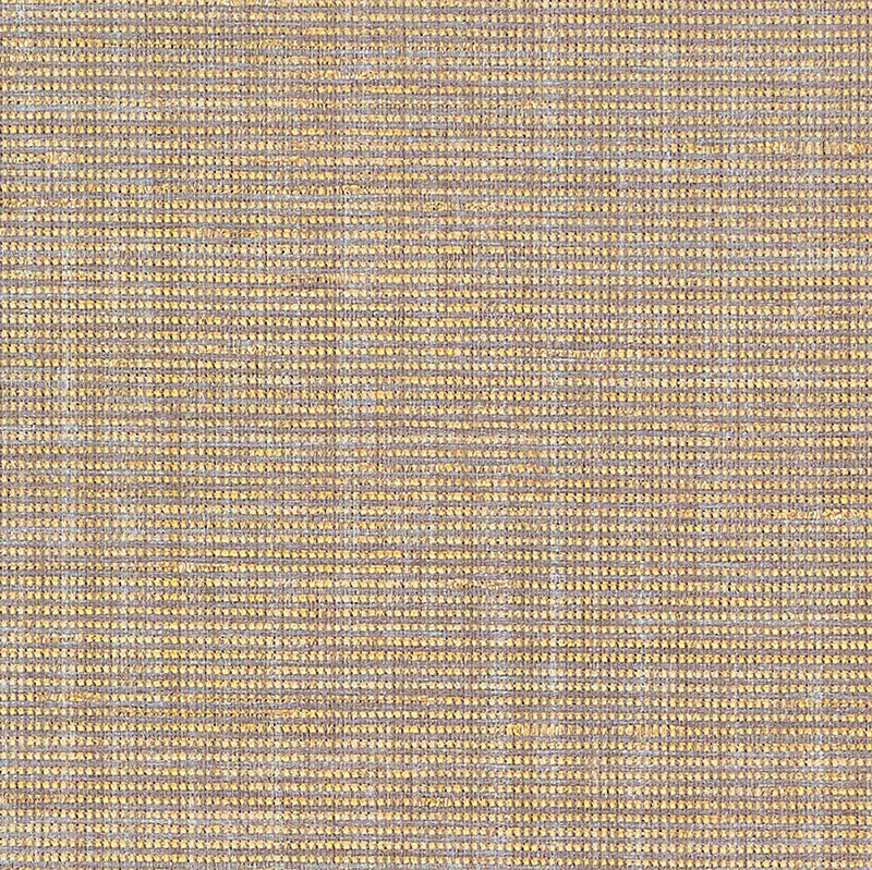 Schumacher Anodized Raffia Wallpaper 5007782 / Gold