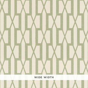 Schumacher Belvedere Wallpaper 5007993 / Sage