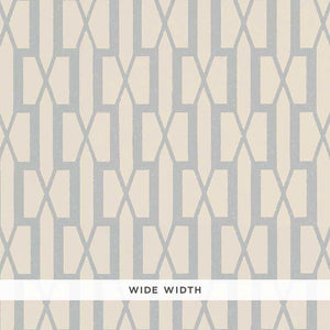 Schumacher Belvedere Wallpaper 5007994 / Orpington Blue