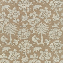 Load image into Gallery viewer, Schumacher Woodland Silhouette Sisal Wallpaper 5008283 / Mocha