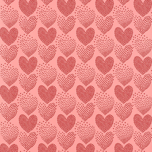 Schumacher Heart Of Hearts Wallpaper 5008361 / Red & Pink