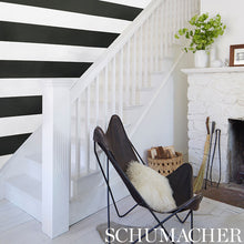Load image into Gallery viewer, Schumacher Baxter Stripe Wallpaper 5008520 / Sky