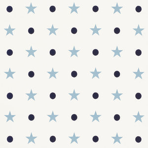 Schumacher Etoiles Et Points Wallpaper 5008550 / Blues