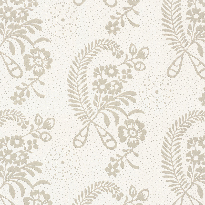 Schumacher Millicent Wallpaper 5008810 / Grisaille