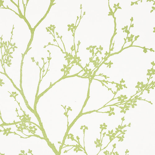 Schumacher Twiggy Paperweave Wallpaper 5008941 / Leaf