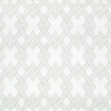 Load image into Gallery viewer, Schumacher Hix Embroidered Paperweave Wallpaper 5008950 / Grey