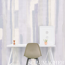 Load image into Gallery viewer, Schumacher Watercolor Wallpaper 5009300 / Blue