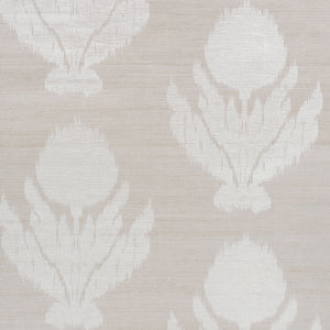 Schumacher Agra Shimmer Wallpaper 5009400 / Moonstone