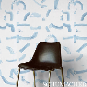 Schumacher Sepiessa Wallpaper 5009491 / Stone
