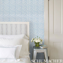 Load image into Gallery viewer, Schumacher Trevi Diamond Wallpaper 5009540 / Porcelain