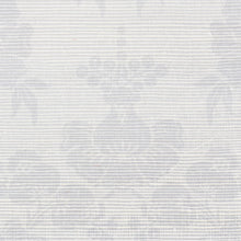 Load image into Gallery viewer, Schumacher Simone Damask Grasscloth Wallpaper 5010120 / Silver