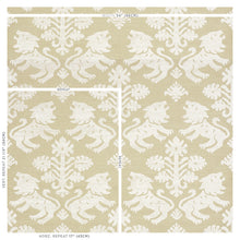 Load image into Gallery viewer, Schumacher Regalia Sisal Wallpaper 5010531 / Ivory On Natural