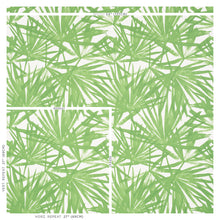 Load image into Gallery viewer, Schumacher Sunlit Palm Wallpaper 5010560 / Green